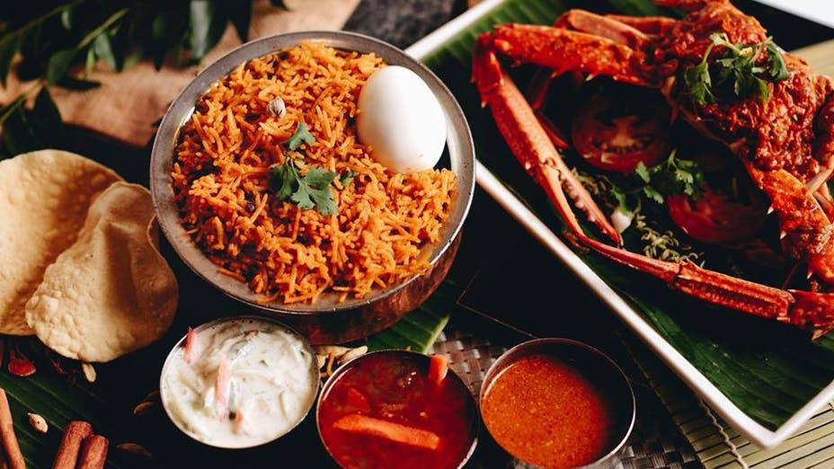 Sakunthala's Restaurant @China Square Food Center